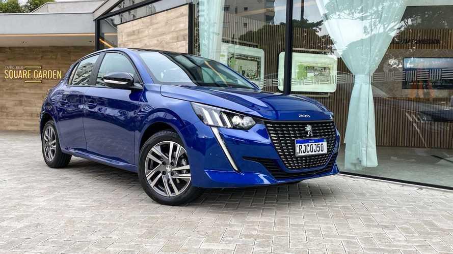 Peugeot vendeu mais entre janeiro e julho do que em 2020 inteiro