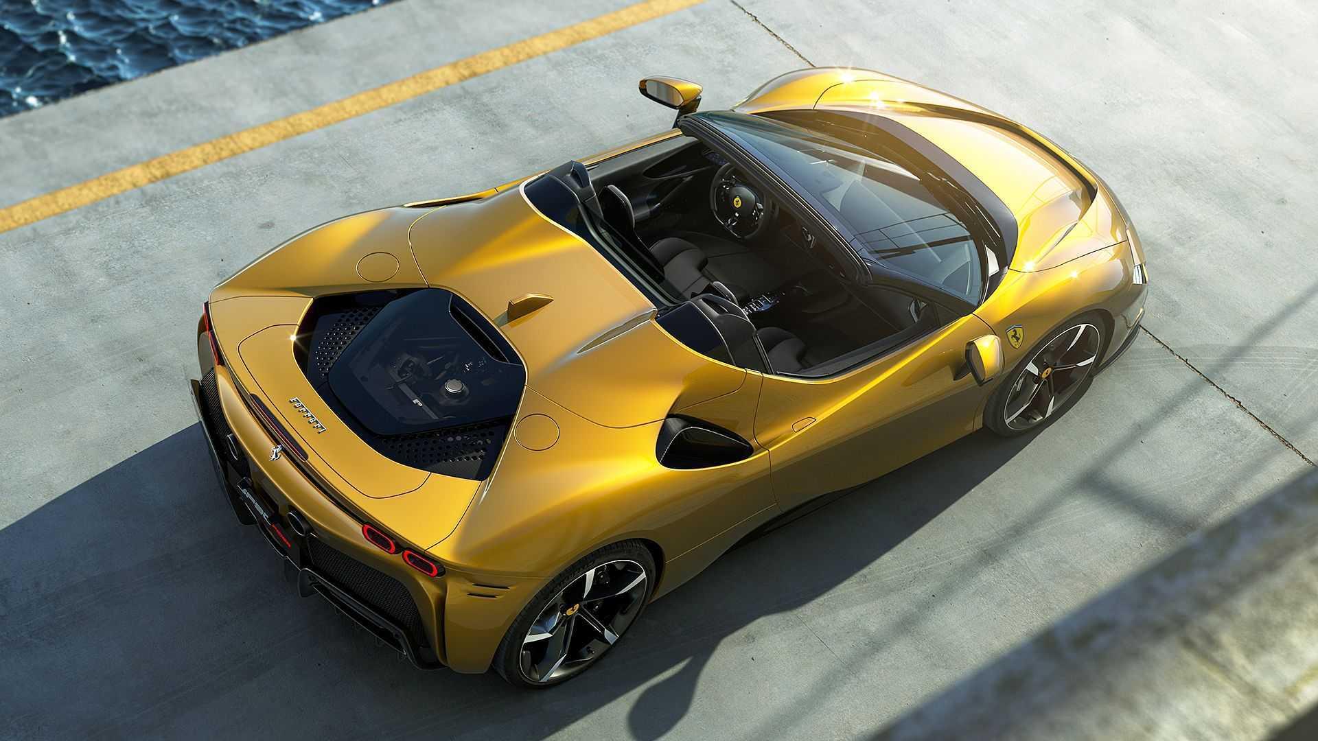 Ferrari SF90 Spider Adds Unlimited Headroom To Plug-In Hybrid Stradale