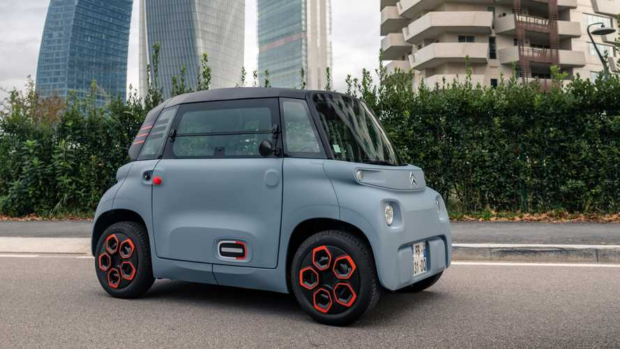 Stellantis Bringing Adorable Citroen Ami To The US As Rental