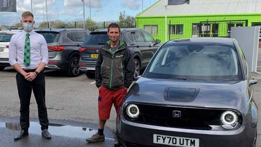 Guy Martin joins the EV movement with own Honda e