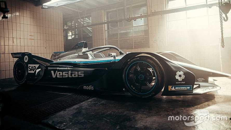 Fotos: el coche de Mercedes para la temporada 2021 de Fórmula E