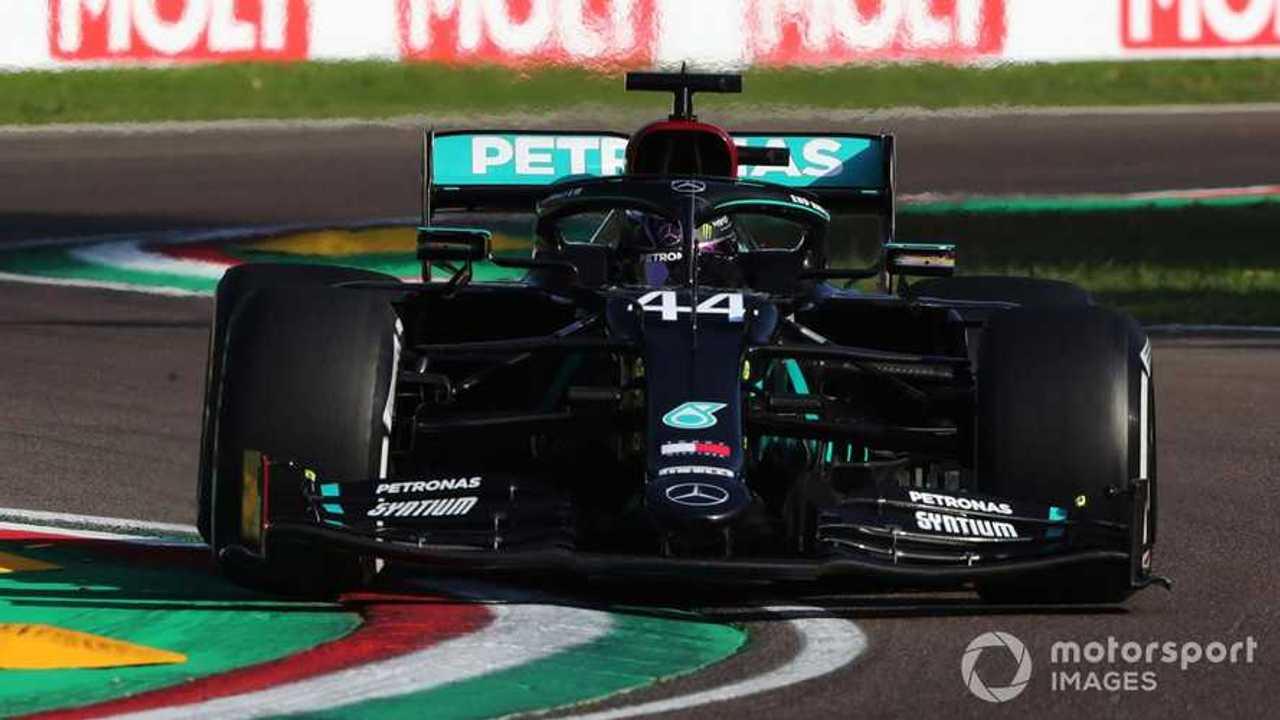 Lewis Hamilton at Emilia-Romagna GP 2020