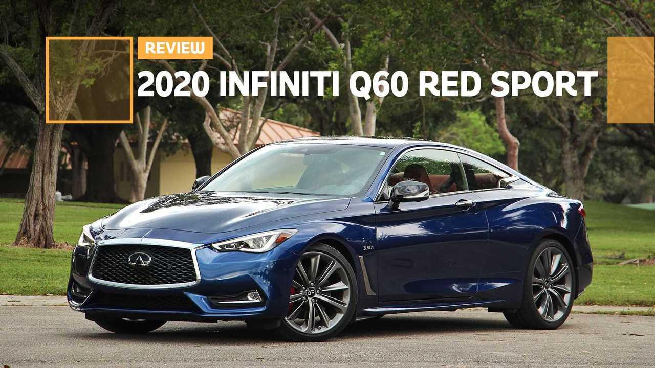 2020 Infiniti Q60 Red Sport Review