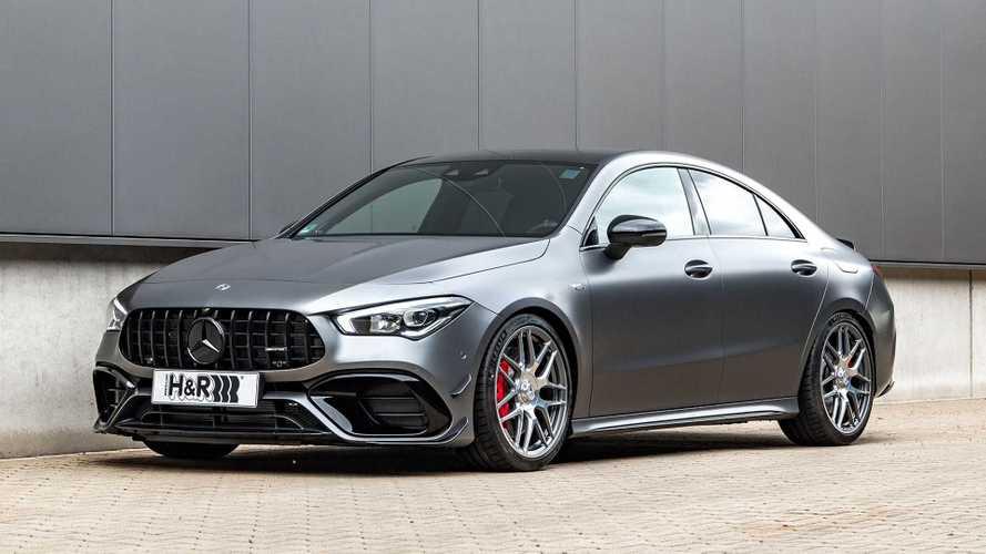 H&R-Sportfedern für den Mercedes AMG CLA 45