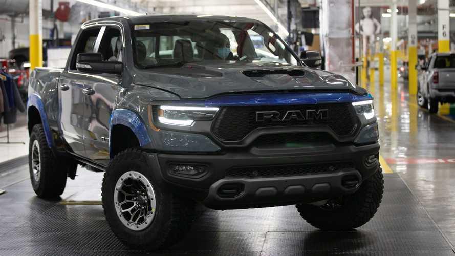 2021 Ram 1500 TRX Production Start