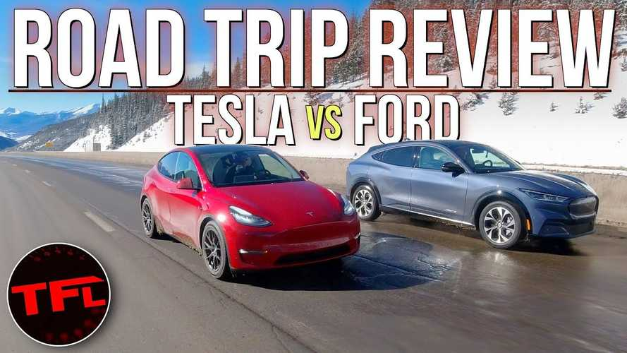 Tesla Model Y Vs Ford Mustang Mach-E: Toughest EV Test, Charging Fail