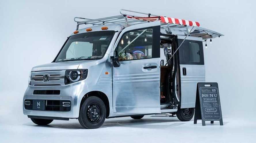 Honda N-Van Mobile Cafe, Rugged Fit Debut For 2021 Tokyo Auto Salon