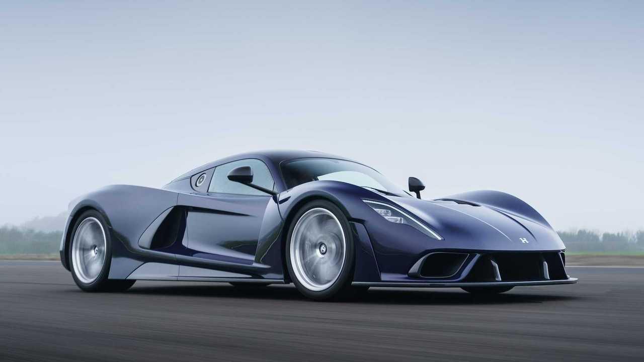 Hennessey Venom F5: Das Exterieur