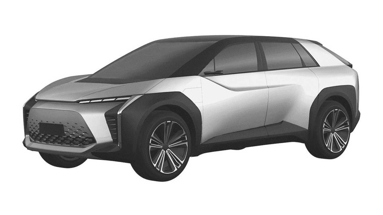 Toyota Crossover Design Trademark Three Quarters Front