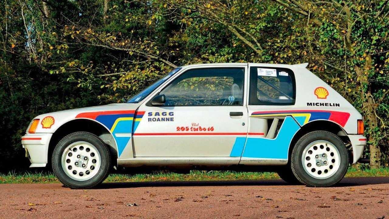 Peugeot 205 T16 aux enchères