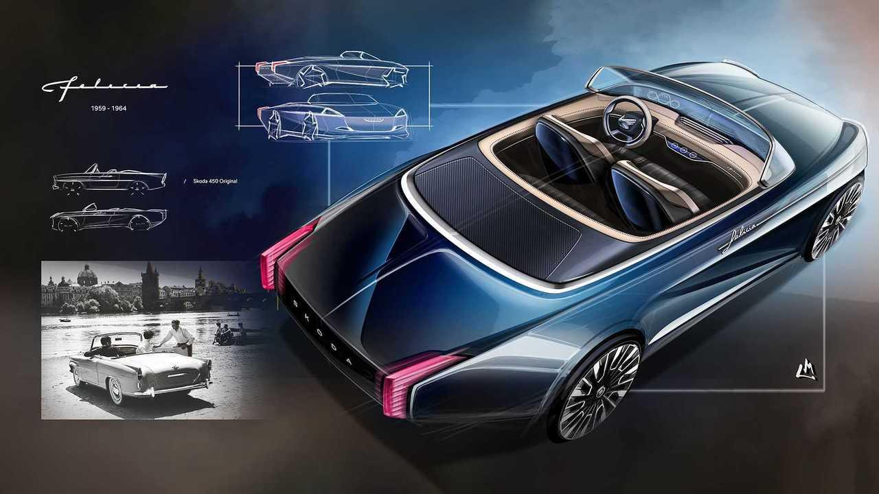 Skoda Felicia Cabriolet Concept von Martin Leprince