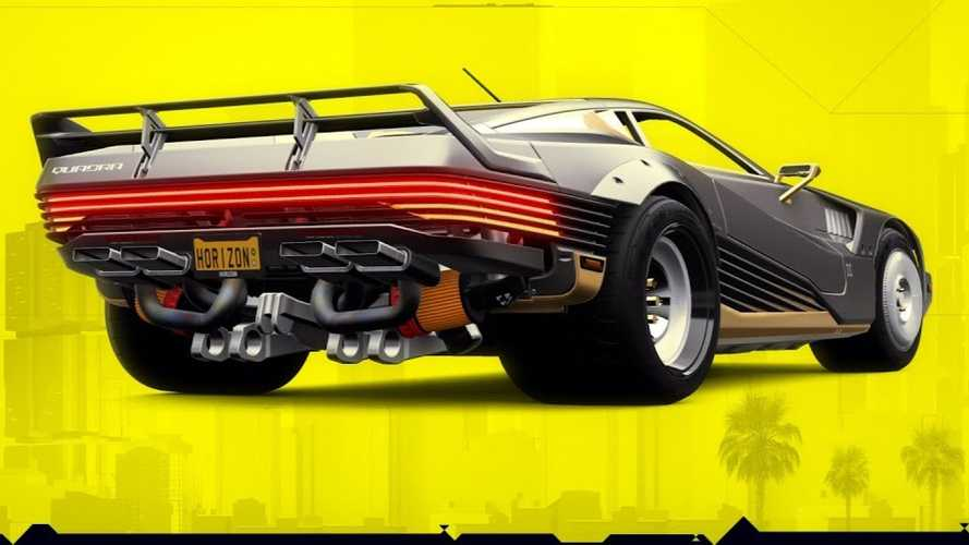 Forza Horizon 4 Adds 2058 Quadra Turbo-R V-TECH From Cyberpunk 2077