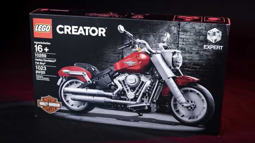 Fancy A Lego Harley-Davidson Fat Boy?