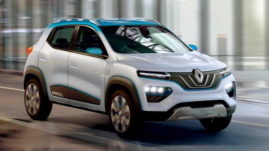 Renault Kwid 100% elétrico fará estreia mundial em 15 de outubro
