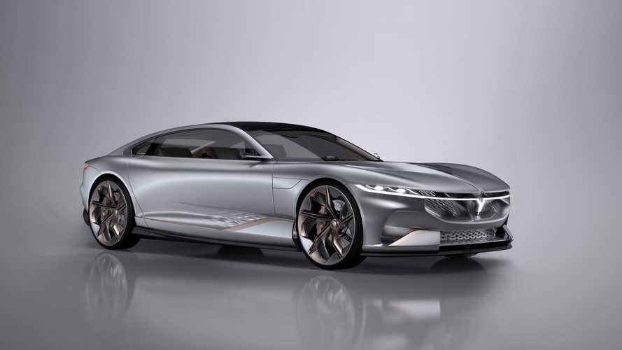 This Voyah i-Land Electric Coupe Is Undeniably Penned By Italdesign