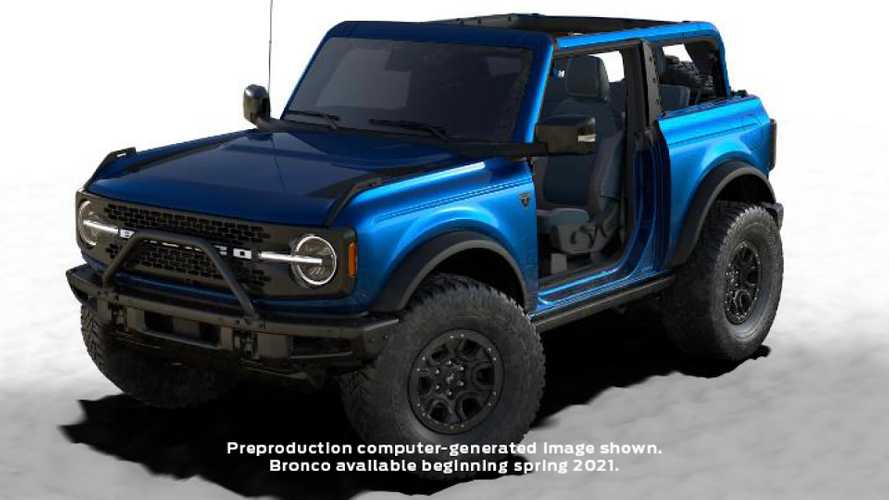 2021 Ford Bronco First Edition Gets Exclusive Lightning Blue Paint