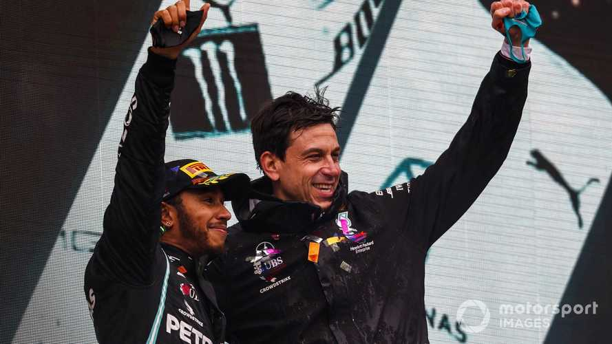 Wolff happy for Lewis Hamilton to be 'polarising'
