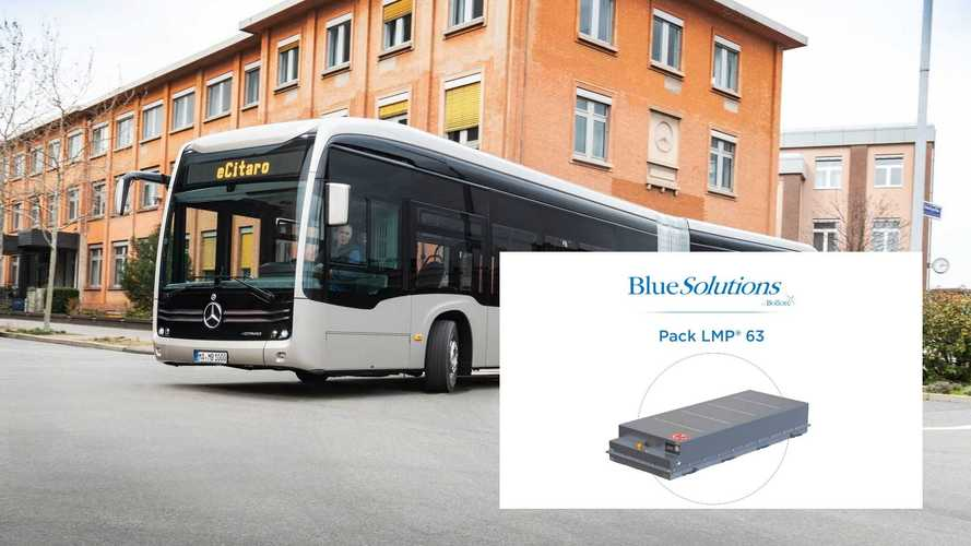 Mercedes-Benz eCitaro Uses All-Solid-State Batteries From BlueSolutions
