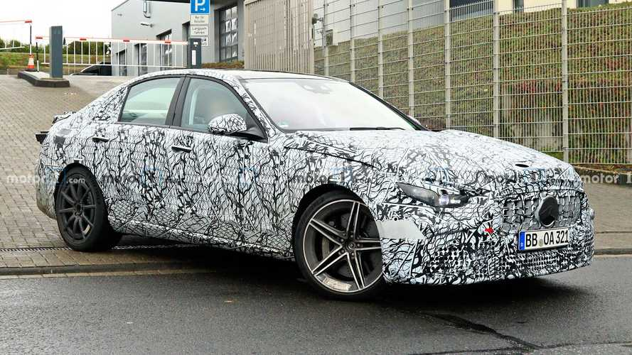 Next-Gen Mercedes-AMG C63 Spied For First Time Looking Familiar