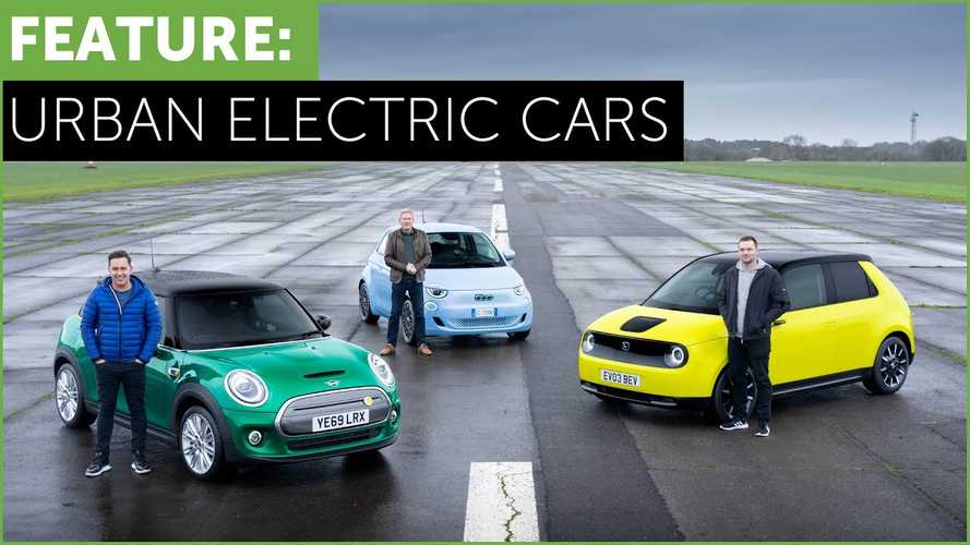Three small city EVs with premium ambitions tested head to head in UK