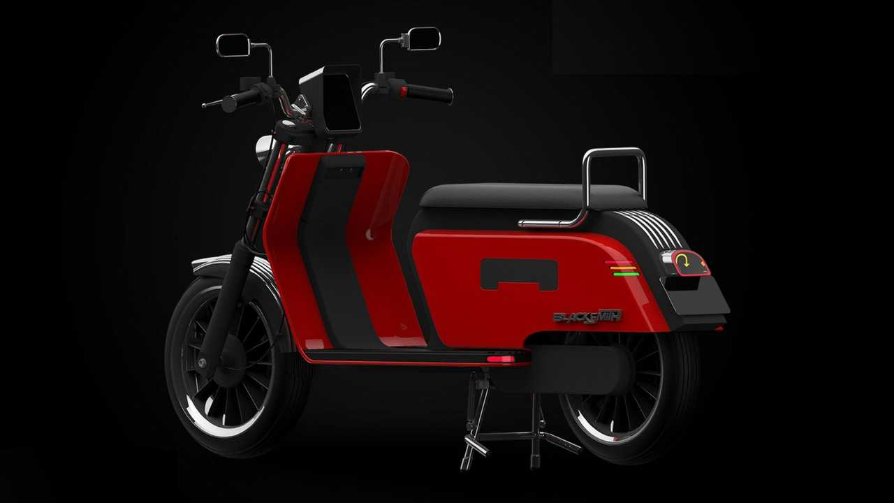 Blacksmith Electric B4 - scooter elétrico