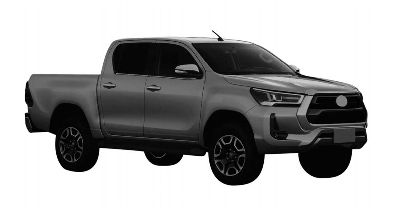 Toyota Hilux 2021 - Registro no Brasil