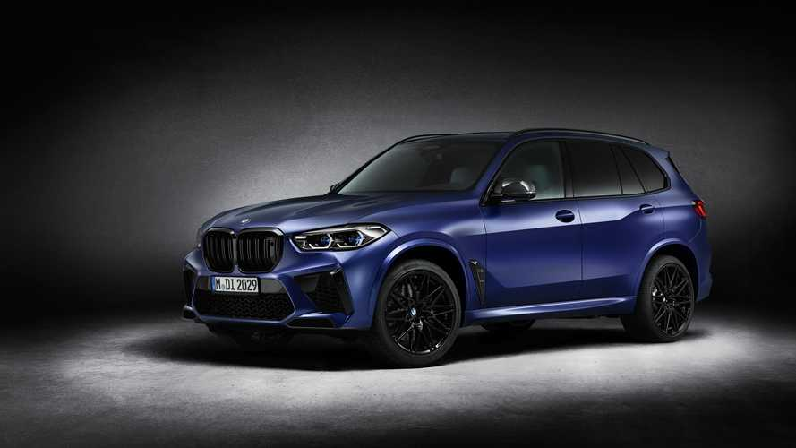 BMW X5 M Competition First Edition and X6 M Competition First Edition