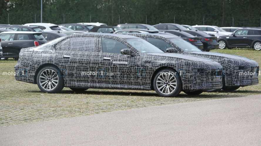 Next BMW 7 Series Plug-In Hybrid spy photos