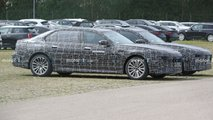 Next BMW 7 Series Plug-In Hybrid spy photos
