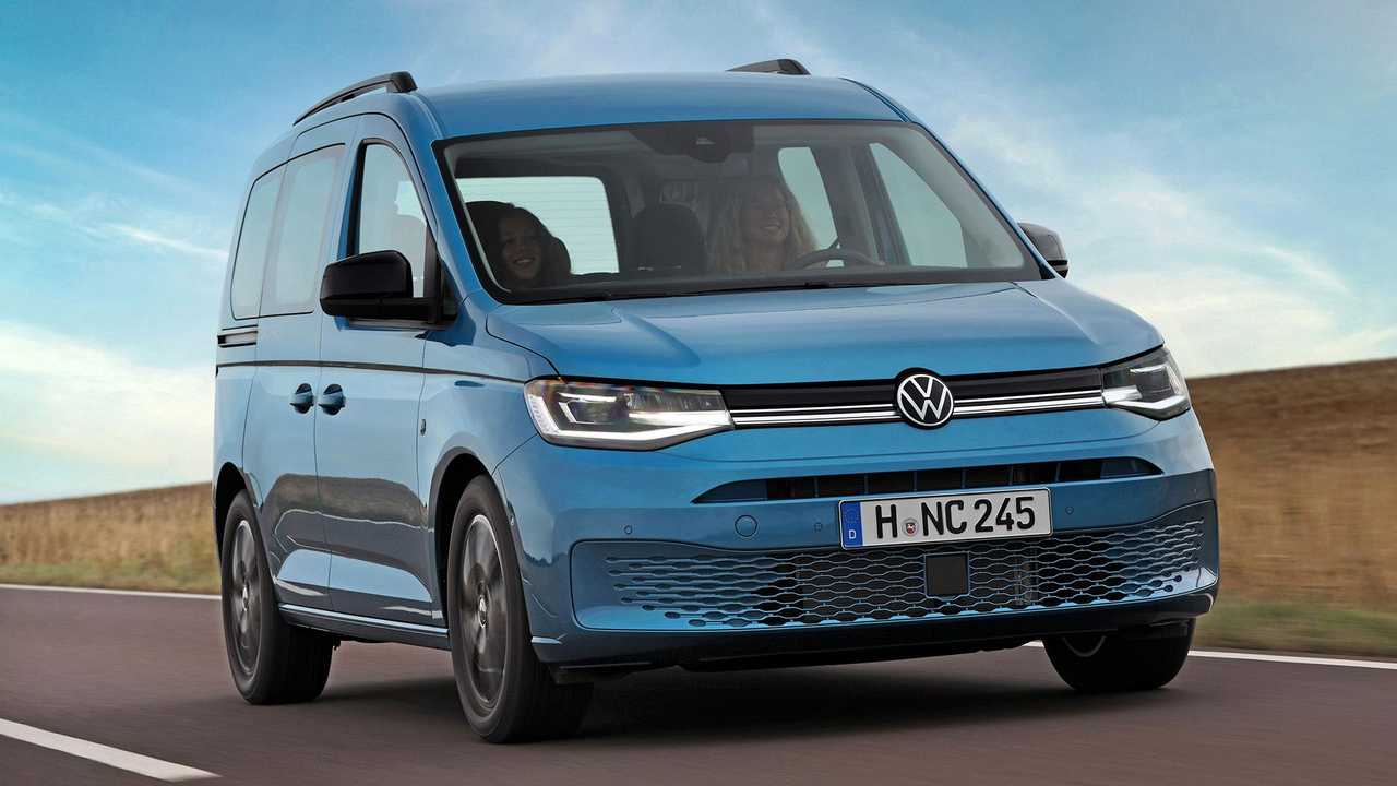 VW Caddy California: Neue Campingversion auf Basis des Caddy der fünften Generation