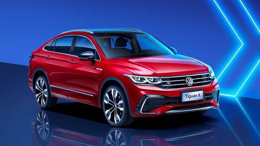 VW Tiguan X Unveiled As Coupe-SUV But It's Only For China