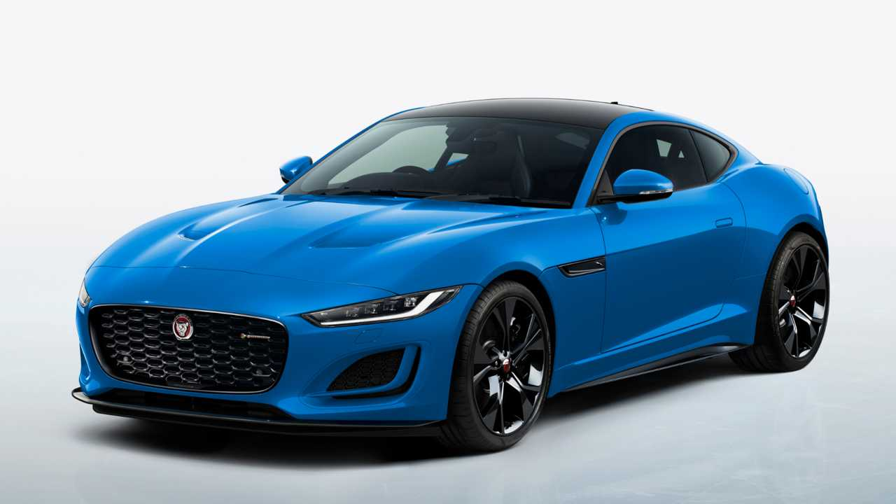 2021 Jaguar F-Type Coupe Reims Edition