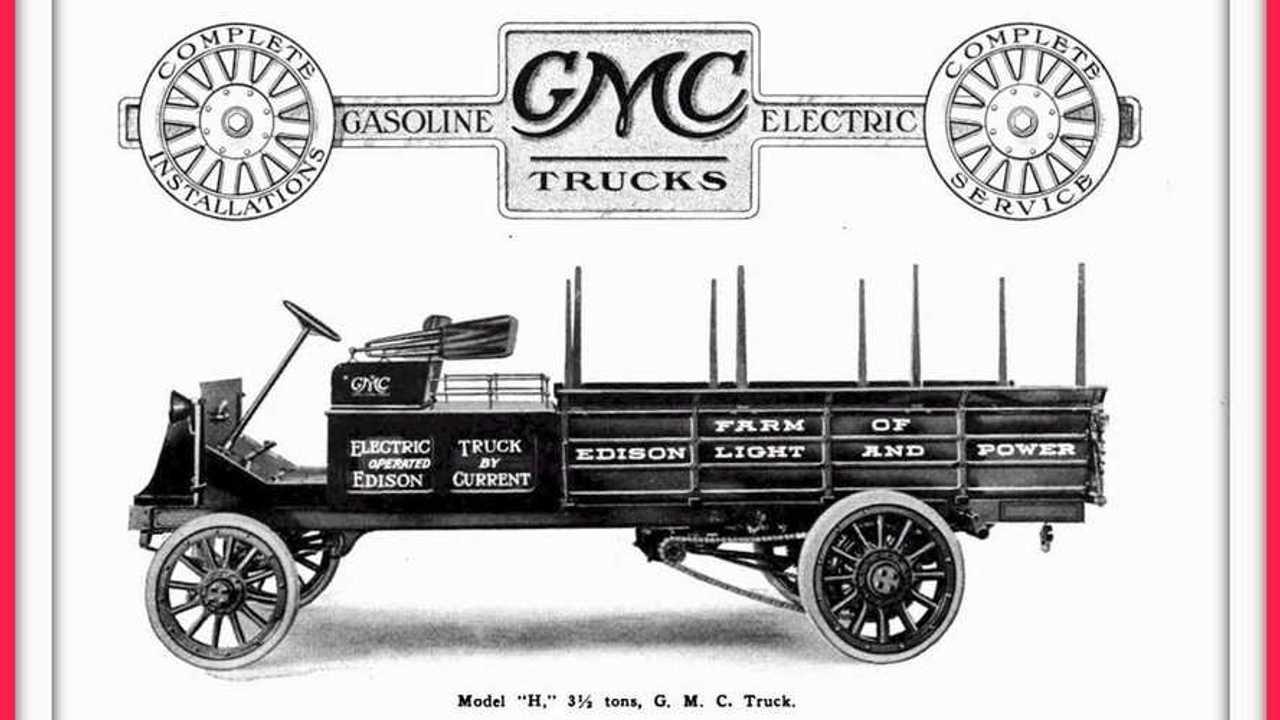 gmc model 3 electric pickup truck