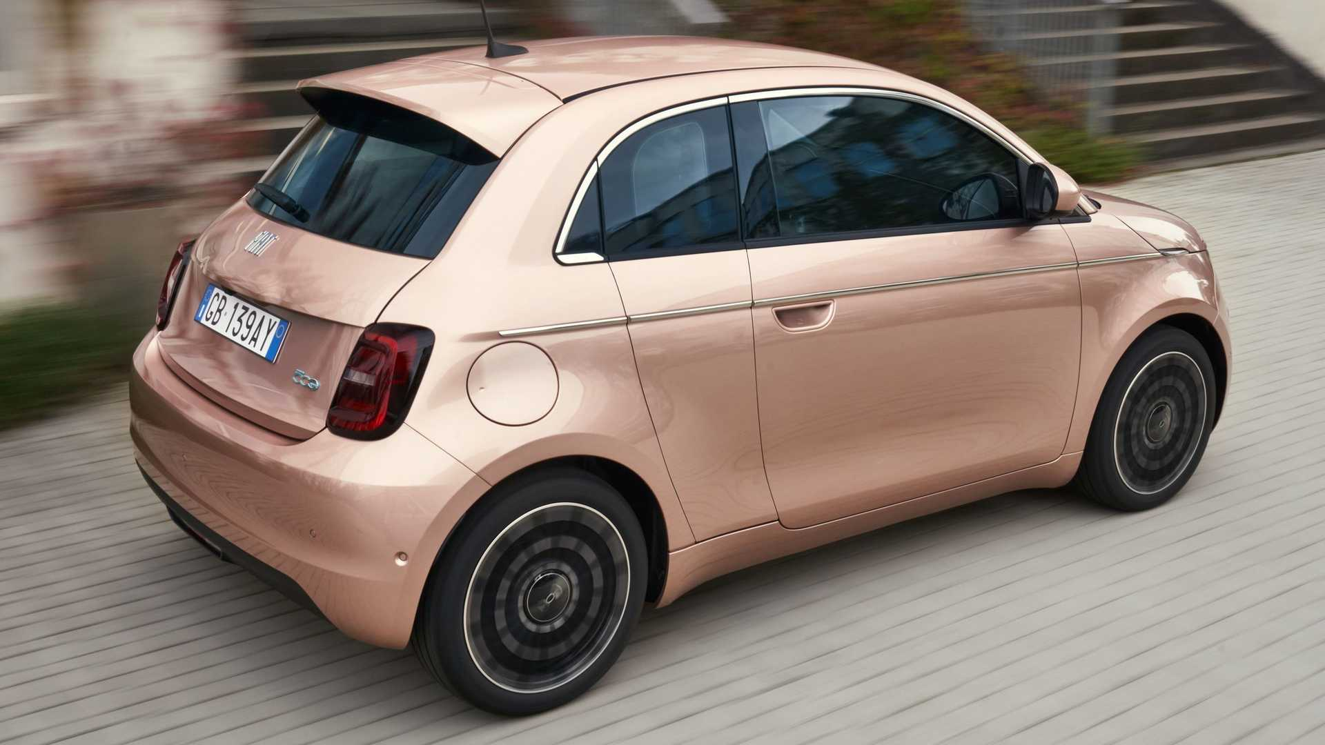 Fiat 500 3+1 electric