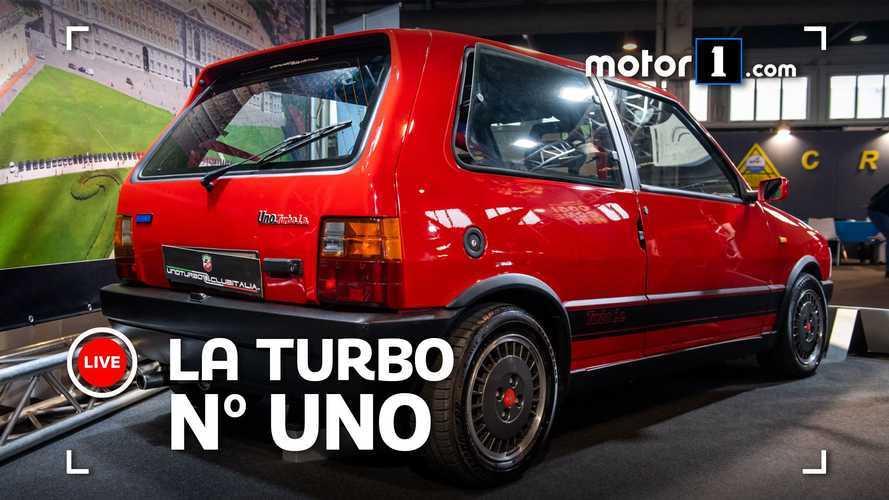 La Fiat Uno Turbo festeggia 35 anni ad Auto e Moto d'Epoca 2020