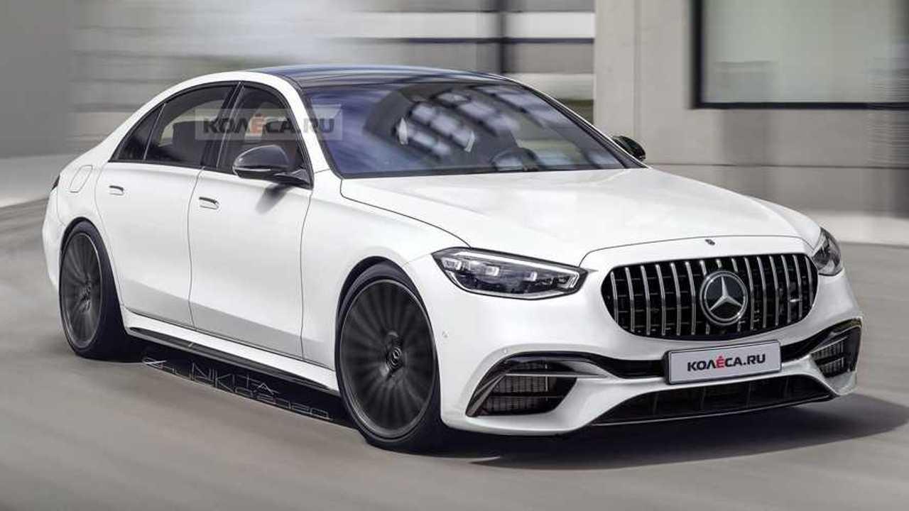 2022 Mercedes-AMG S63e rendering