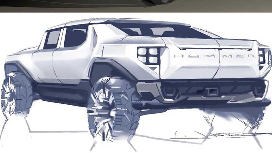 2022 GMC Hummer EV Sketches