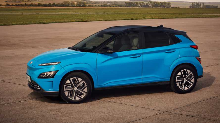 Hyundai Kona Electric facelift debuts with refreshed face, new tech