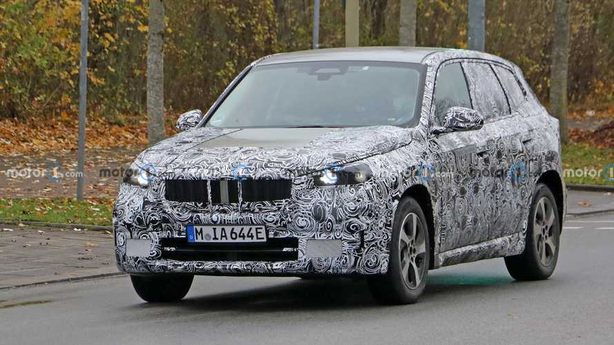 BMW iX1 Spy Photos