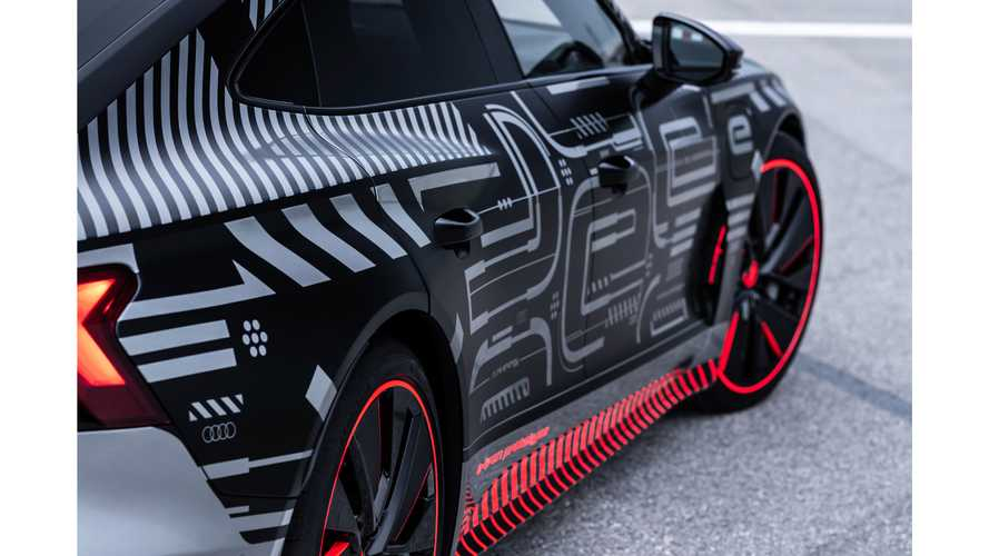 Audi e-tron GT (2021) zeigt sich auf Teaserbildern