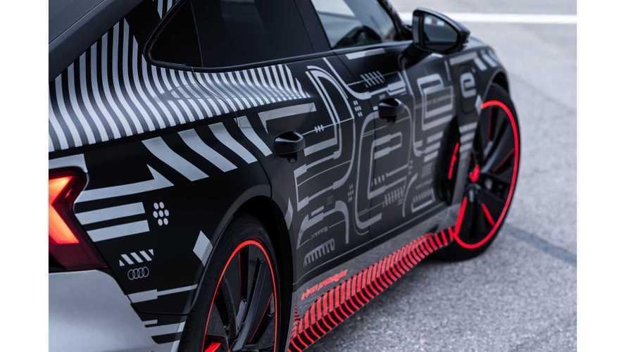 Audi e-tron GT, teasers