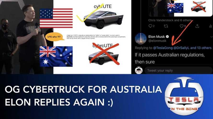 Australia Wants Original Big Tesla Cybertruck, Not Baby One: Musk Says Yes