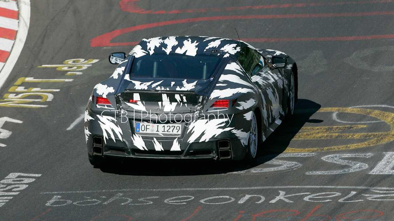 2008 Acura NSX prototype rear