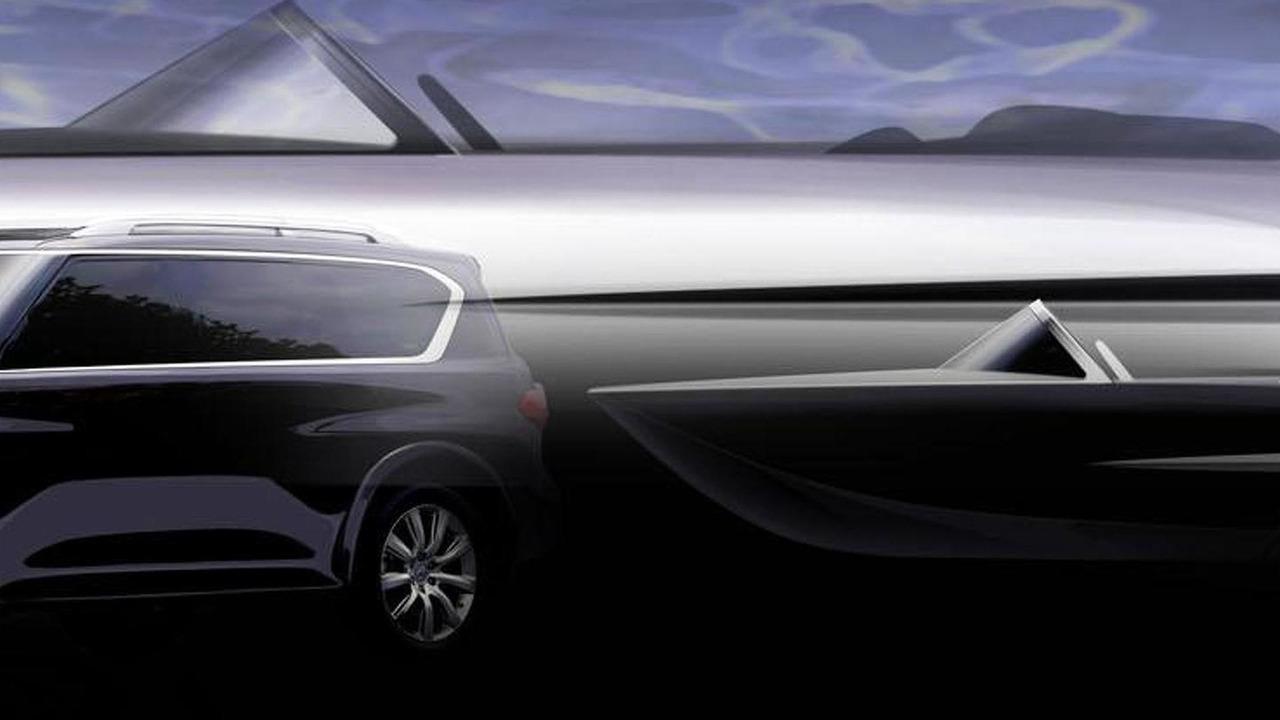 Infiniti boat teaser image - 27.7.2011