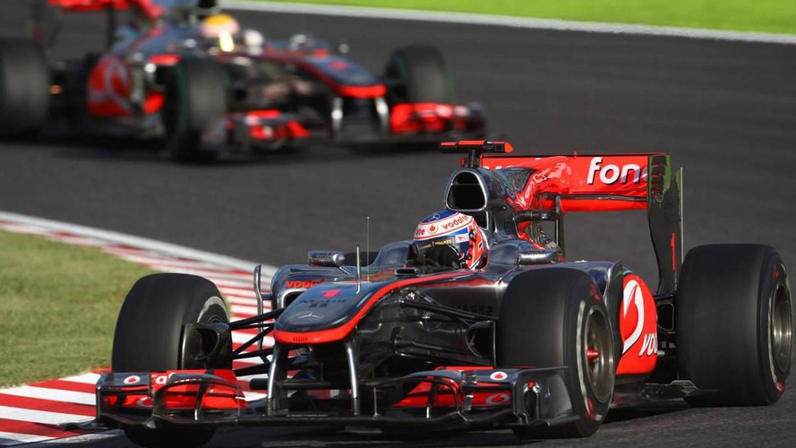 McLaren duo dropping out of 2010 title contention