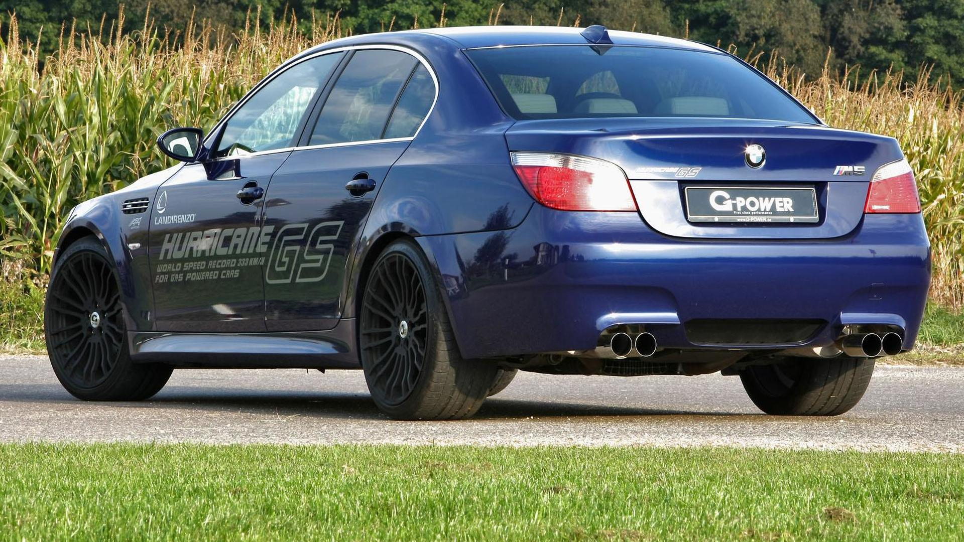 G Power Bmw M5 Hurricane Gs The Worlds Fastest Lpg Vehicle