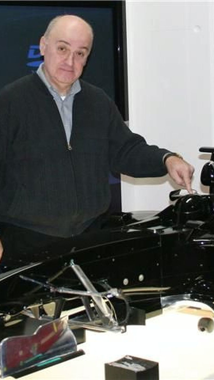 Stefan GP, Stefanovic with S-01 wind tunnel model - 348