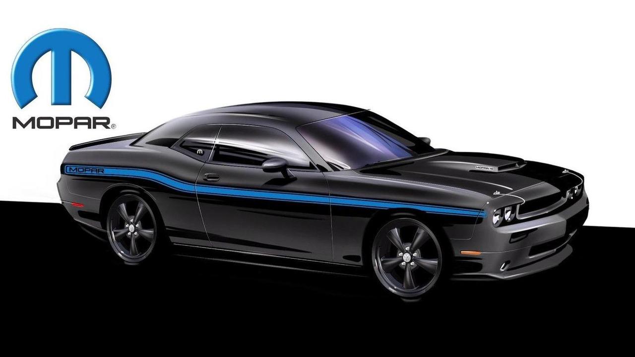Mopar 2010 Challenger design sketch preview 08.07.2010