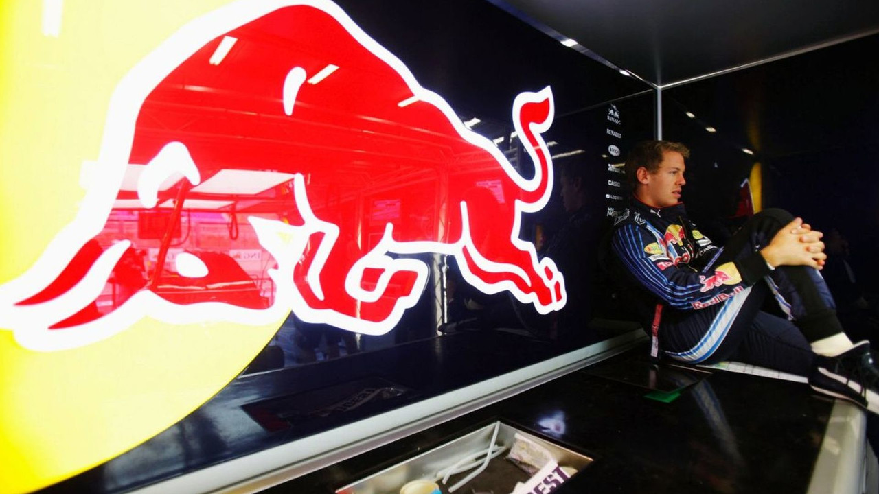 Sebastian Vettel prepares to drive during practice for the Belgian Grand Prix, Circuit of Spa Francorchamps 28.08.2009