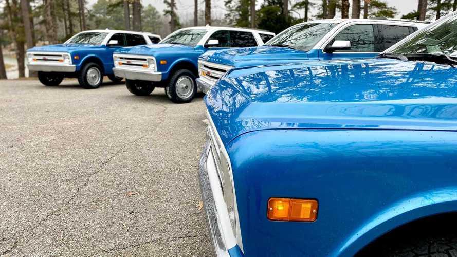 Chevrolet Tahoe превращается в Chevy K5 Blazer